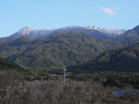 島南部からも雪景色が♪ 2
