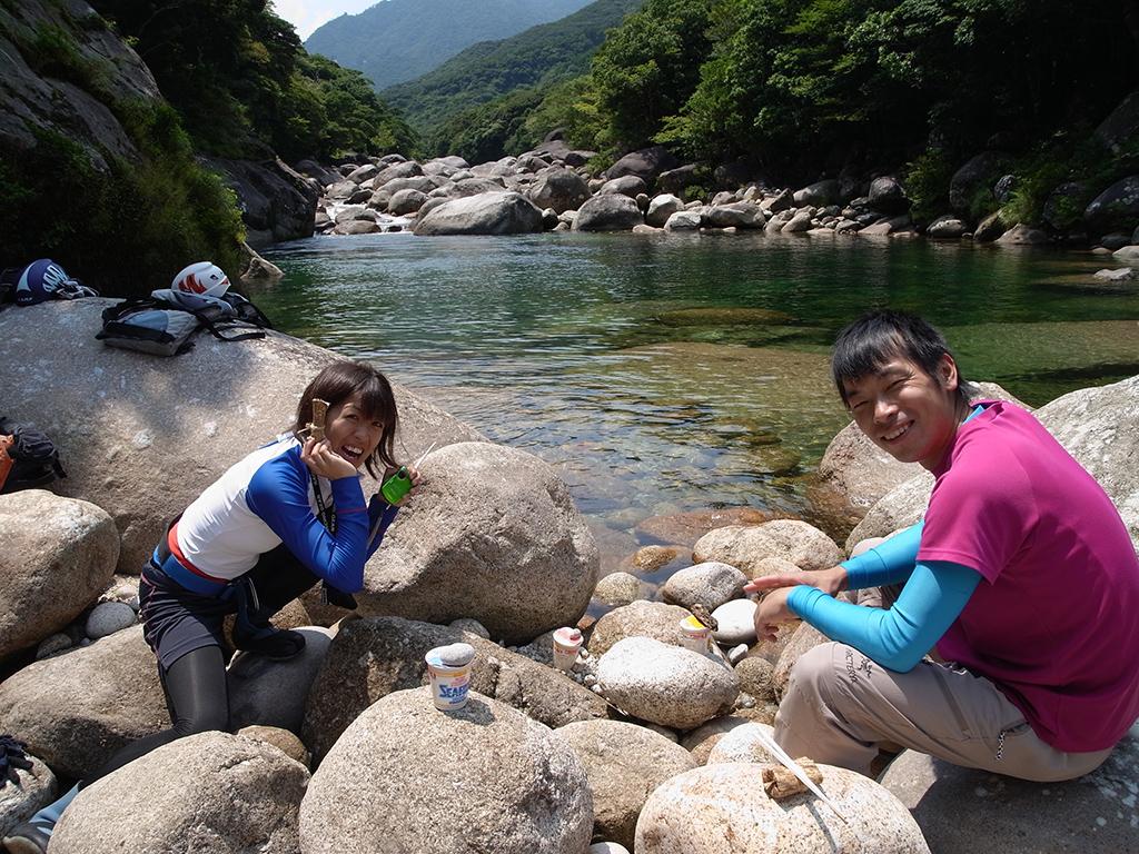 2016.8.20  沢登り(リピーターさん)