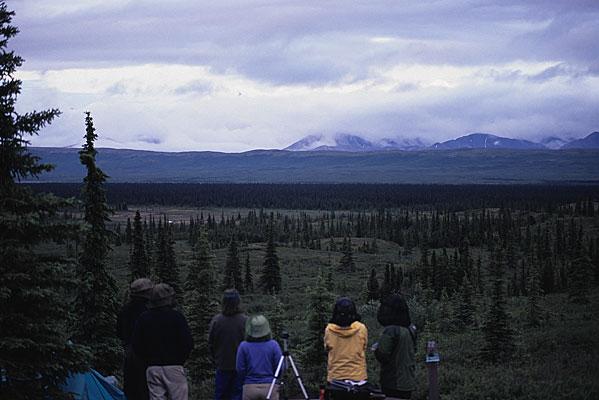 アラスカ最高峰のデナリを拝めるWonder Lake Campgroundで6日間のキャンプ(Day3)