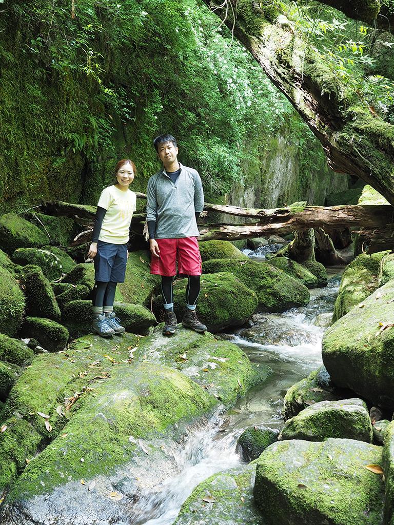 新婚旅行で訪れた白谷雲水峡・太鼓岩は絶景でした!! 2