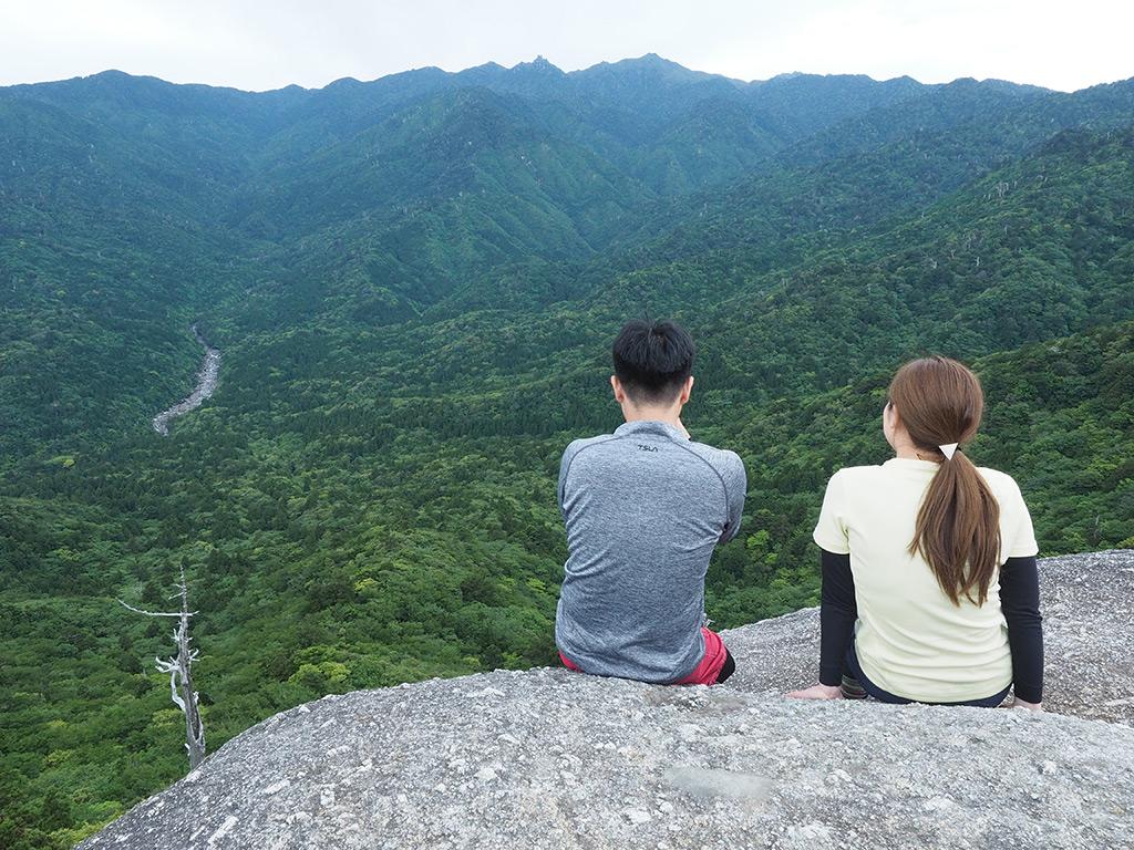 新婚旅行で訪れた白谷雲水峡・太鼓岩は絶景でした!! 4