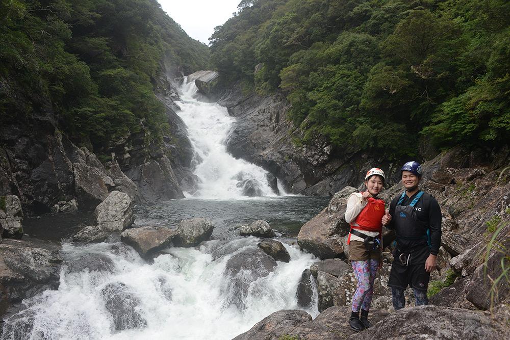 今年一番の大迫力「お谷ヶ滝」