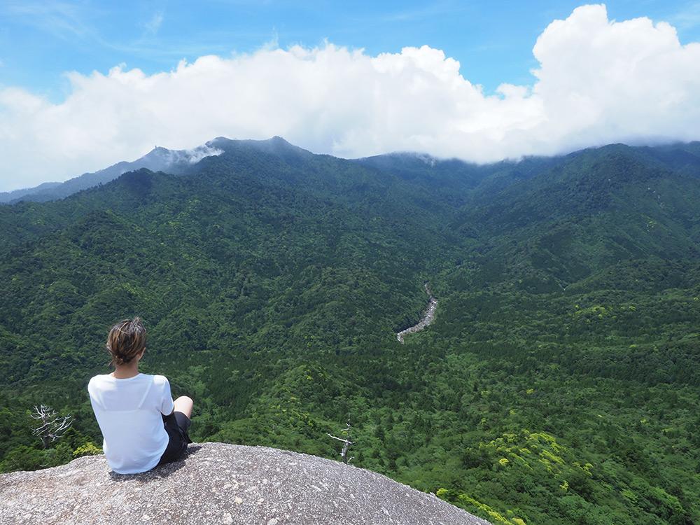 久しぶりのひとり旅、白谷雲水峡の自然に溶け込みたい…